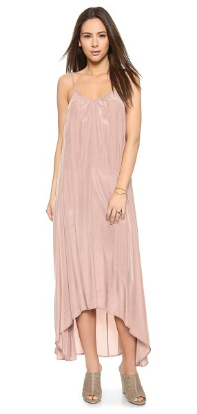 ONE by Pink Stitch one by resort maxi dress in taupe - Pink Stitch, selected for Shopbop's ONE by collection...