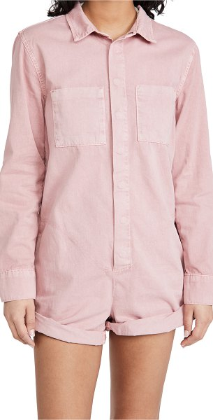 One Teaspoon dirty pink prophecy jumpsuit in dirty pink
