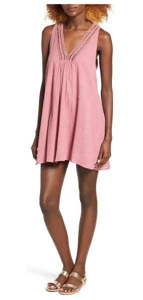 O'Neill mamba swing dress in mesa rose - Perfect for layering over your prettiest underthings,...