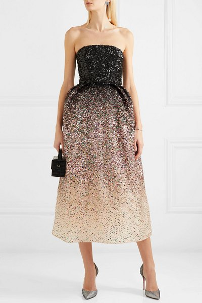 Ong-Oaj Pairam ofelia sequined silk-organza gown in pink