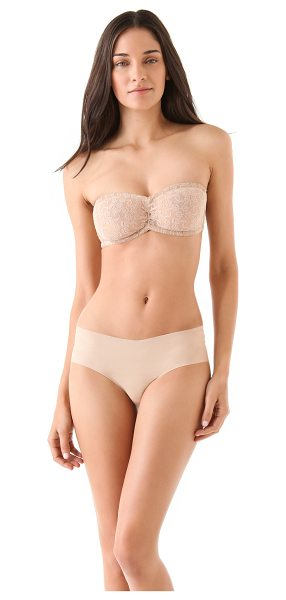 Only Hearts Lace bandeau bra in nude