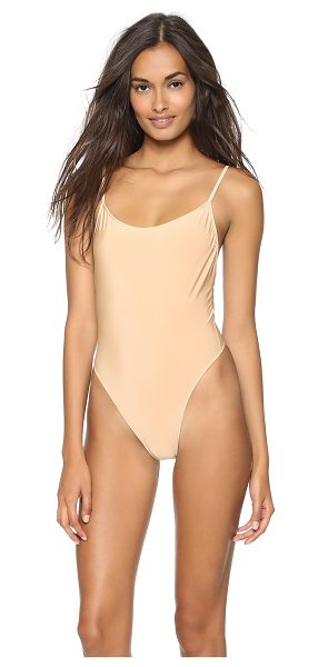 Only Hearts second skins bodysuit in nude