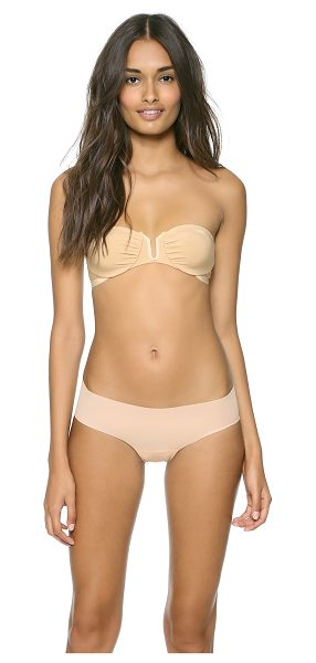 Only Hearts strapless convertible bra in nude - This underwire bra features a U-ring between the cups...