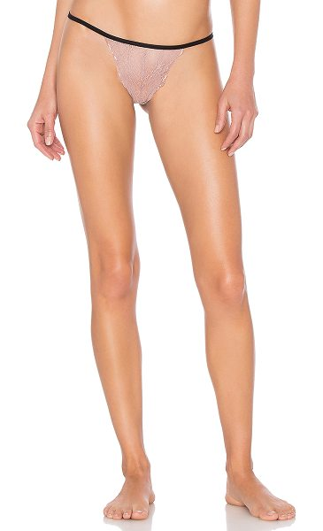 Only Hearts Whisper Sweet Nothings G String in blush - 77% nylon 19% spandex 4% rayon. Hand wash cold. Sheer...
