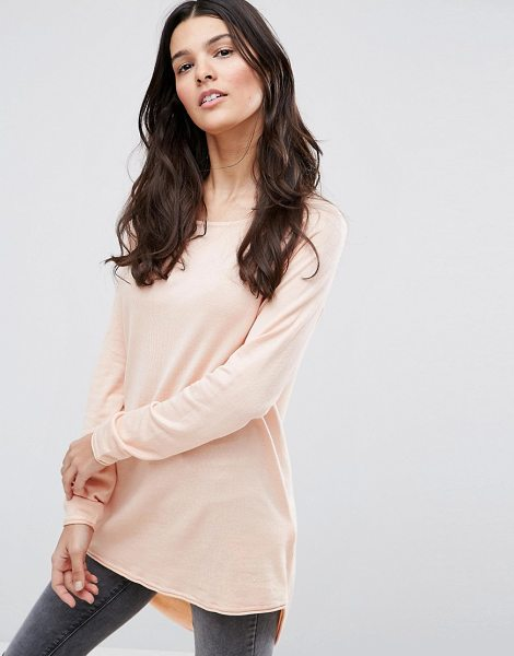 ONLY Mila Lacy Long Sleeved T-Shirt - Top by Only, Soft-touch jersey, Round neck, Long...