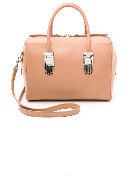 Opening Ceremony Lele satchel bag in dusty pink - A chic Opening Ceremony tote in sturdy leather. Polished...
