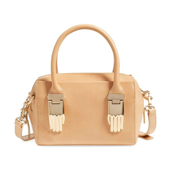 Opening Ceremony Mini lele satchel in natural - A sized-down version of a must-have satchel takes the...