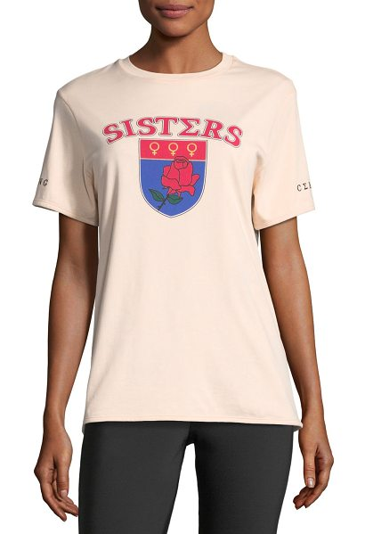 "OPENING CEREMONY Sisters Short-Sleeve Printed Reversible Tee - Opening Ceremony ""Sisters"" tee with sorority-inspired..."