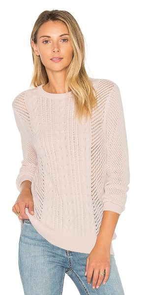 PAIGE Nori Sweater - 55% nylon 30% wool 15% acrylic. Hand wash cold. Cable...