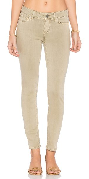 PAIGE Verdugo Ankle in vintage khaki - 52% rayon 26% cotton 21% poly 1% spandex. 12 at the knee...