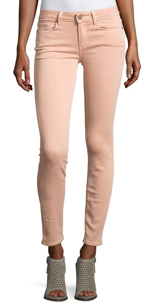 "PAIGE Verdugo Ankle Skinny Jeans in pink - Paige Denim ""Verdugo"" jeans in Faded Petal pink-wash..."