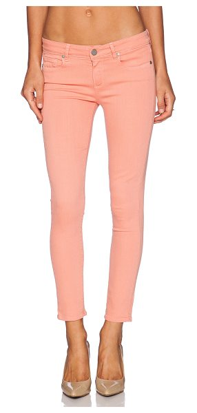 "PAIGE Verdugo ankle - Cotton blend. 13"""" in the knee narrows to 10"""" at the..."