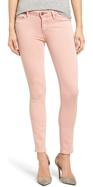 PAIGE transcend in faded petal pink - Freshen up your denim wardrobe with ultra-skinny jeans...
