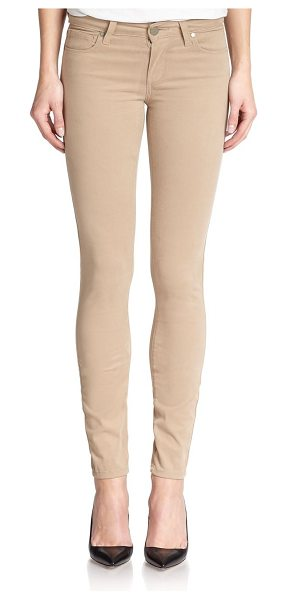 PAIGE Verdugo skinny jeans - A right-now, ankle-skimming length rendered in a smooth...