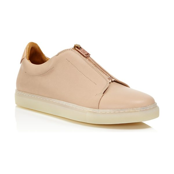Pairs In Paris Pairs in Paris Milton Zip Sneakers - 100% Exclusive in nude - Pairs in Paris Milton Zip Sneakers - 100% Exclusive-Shoes