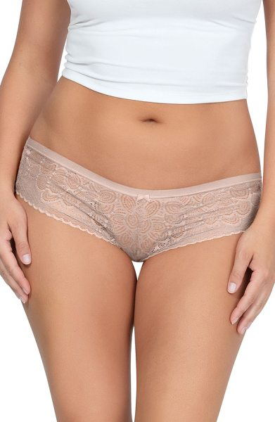 Parfait so glam hipster briefs in european nude - Designed for everyday glamour, this low-rise bikini...