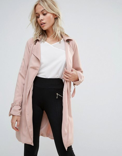 Parisian Trench Coat in pink