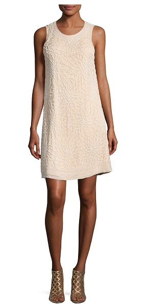 "PARKER Allegra Beaded Sleeveless Cocktail Dress - Parker ""Allegra"" beaded cocktail dress. Jewel neckline;..."