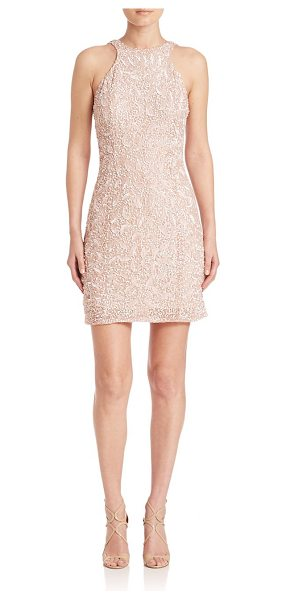 PARKER BLACK hannah sequined shift dress - Glamorous dress punctuated by graceful sequins. Halter...
