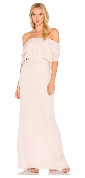 Parker Black Helen Dress in blush - Self: 100% silkLining: 100% poly. Dry clean only. Fully...