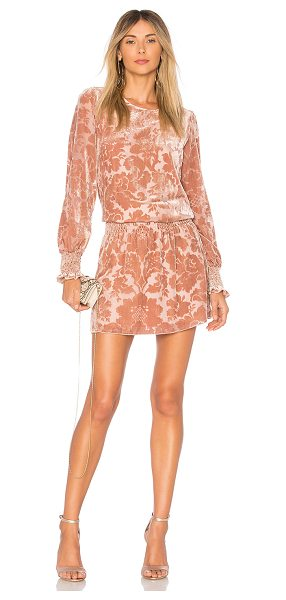 Parker Carmindy Dress in blush - Self: 75% viscose 25% nylonLining: 100% poly. Dry clean...