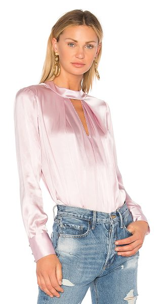 Parker Eleanor Blouse in pink - Self: 100% silkLining: 100% viscose. Dry clean only....