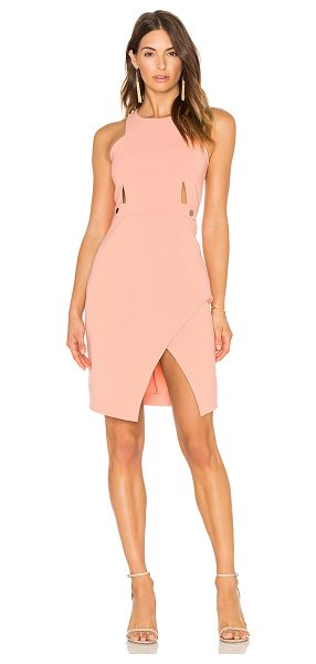 Parker Gigi Dress in pink - Poly blend. Partially lined. Back hidden zipper closure....