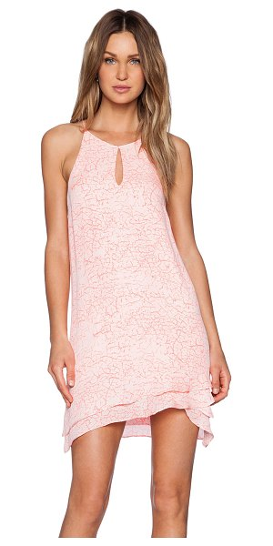 Parker Pricscilla dress in pink - Silk blend. Dry clean only. Fully lined. Front neckline...