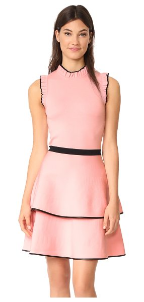 PARKER ryker knit dress - Tidy ruffles add a charming touch to this Parker...