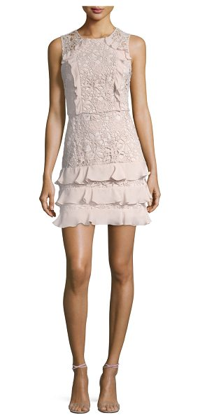 "PARKER Zahara Combo Sleeveless Lace Cocktail Dress - Parker ""Zahara"" cocktail dress in lace guipure with..."