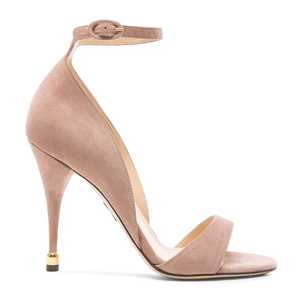 Paul Andrew Westside suede heels in neutrals - Suede upper with leather sole.  Made in Italy.  Approx...