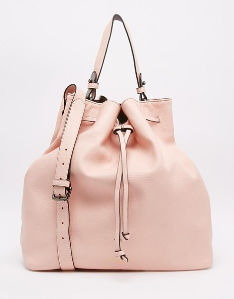 PAULS BOUTIQUE Pauls boutique cora drawstring duffle bag in pink - Cart by Paul's Boutique, Leather-look fabric, Drawstring...
