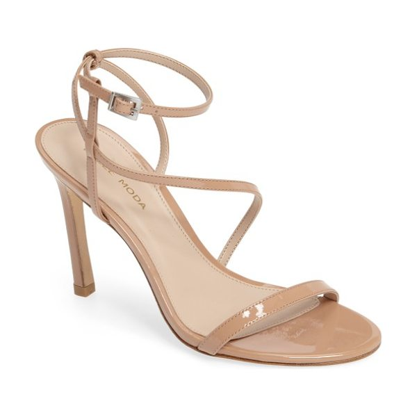 PELLE MODA angler2 sandal - A sleek leather sandal gets a modern touch with slim...