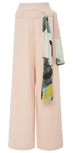 Perret Schaad Simon Wide Leg Trousers in pink - This *Perret Schaad* Simon Wide Leg Trousers are cut...