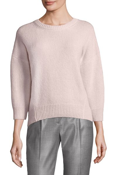 Peserico crewneck sweater in pink - Plush, loose-fitting crewneck sweater Crewneck Bracelet...