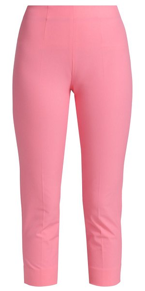 Piazza Sempione audrey iconic stretch cotton trousers in pink