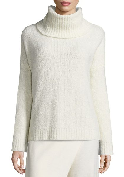 Polo Ralph Lauren cashmere-blend turtleneck sweater in cream - A light and lofty cashmere blend and an effortless drape...