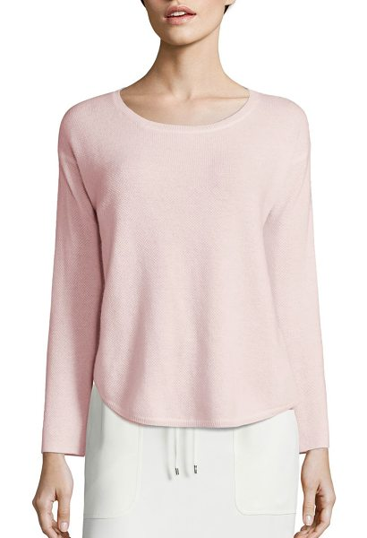 Polo Ralph Lauren cashmere crewneck sweater in pink - Upgrade your sweater game with this sumptuous yet simple...