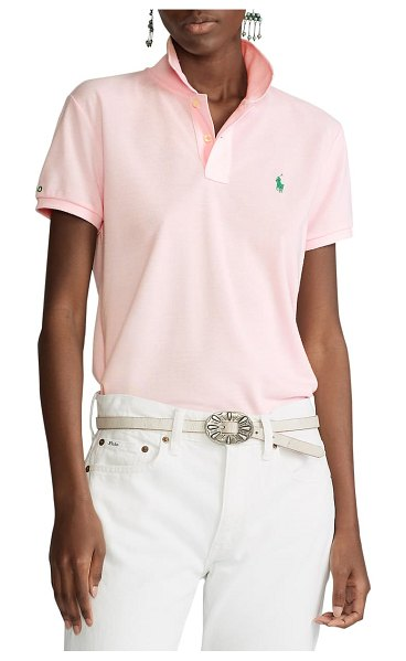 Polo Ralph Lauren earth classic fit polo in hint of pink