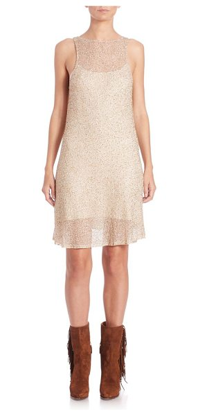 Polo Ralph Lauren Embellished tulle sleeveless dress in wonderlandcream - Beaded, fete-ready tulle designHigh illusion...