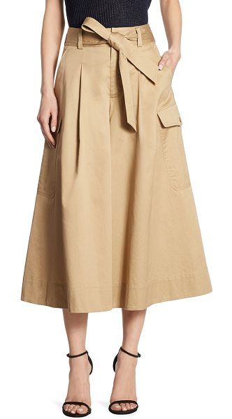 Polo Ralph Lauren wide-leg cotton chino pants in field beige - These wide-leg pants put a modern spin on the classic...