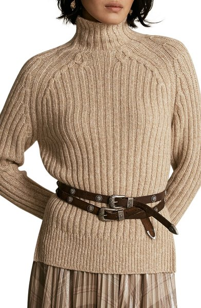Polo Ralph Lauren wool & cashmere sweater in brown