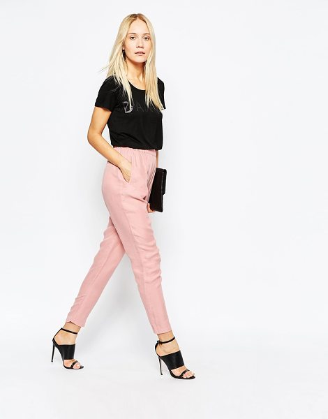 POP CPH Cupro pants - Pants by Pop CpH Super smooth, silk-mix fabric High-rise...