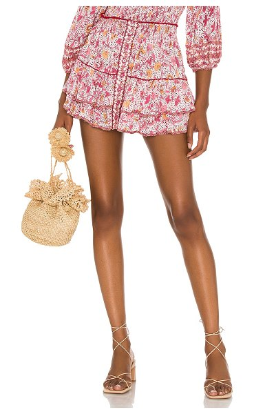POUPETTE ST BARTH camilla skirt in pink clary