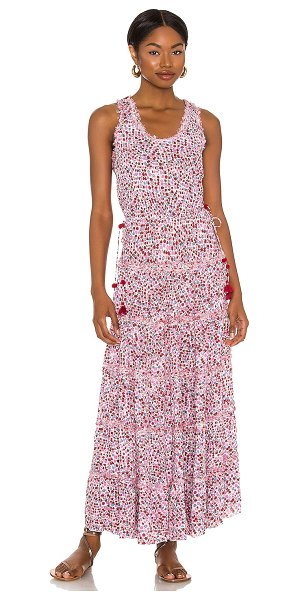 POUPETTE ST BARTH katie maxi dress in pink tulip