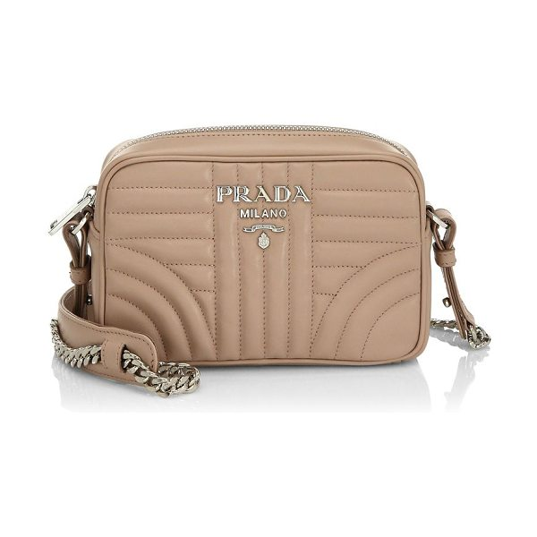 Prada Quilted Crossbody Bag Nudevotion