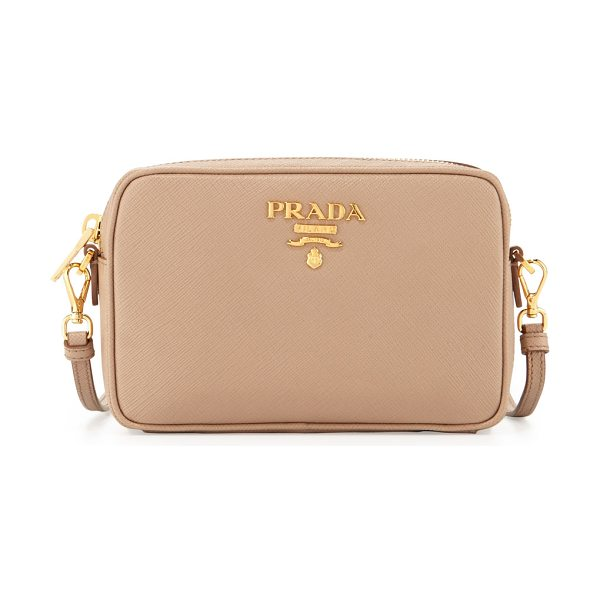 169dd0505e57 ... where to buy prada small saffiano camera crossbody bag in cammeo beige prada  saffiano leather camera