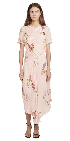 Preen By Thornton Bregazzi preen line shae dress in haunted floral pink