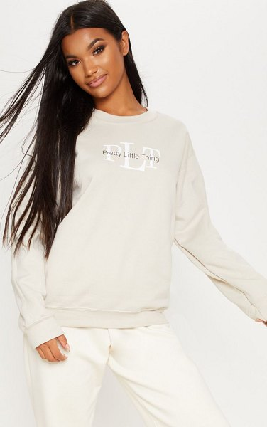 PrettyLittleThing sweater in sand