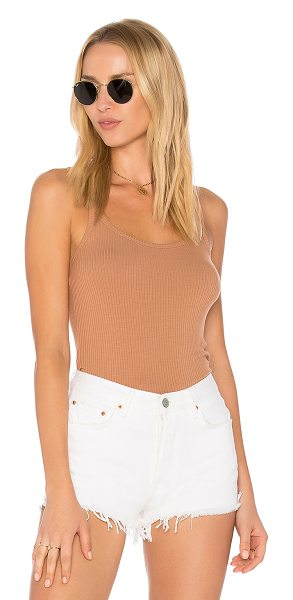 PRIVACY PLEASE Aster Tank - Taking things easy in soft rib knit fabric, the Aster...